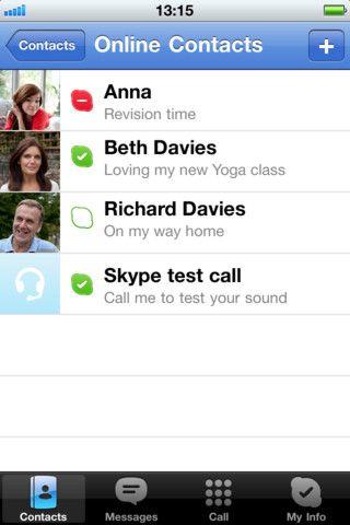Vorschau Skype iPad-App - Bild 4