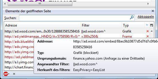 Vorschau Adblock Plus for Firefox - Bild 4