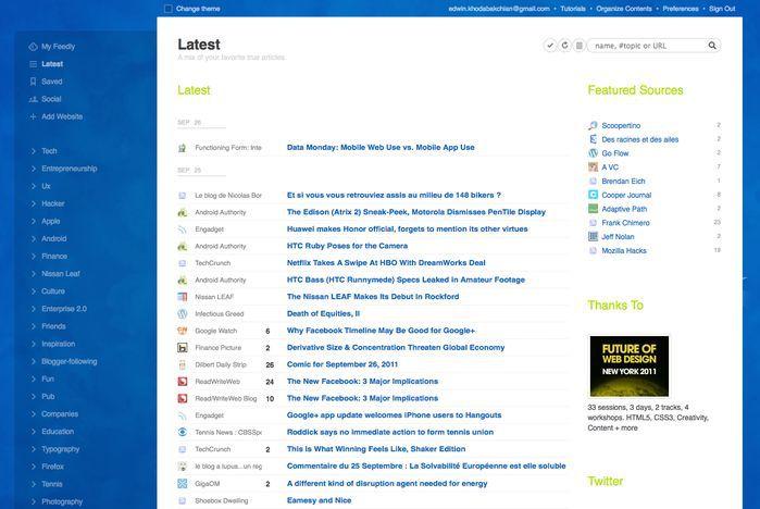 Vorschau Feedly for Firefox - Bild 4