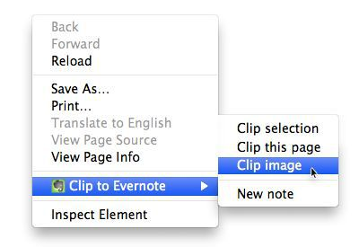 Vorschau Evernote Web Clipper for Chrome - Bild 4