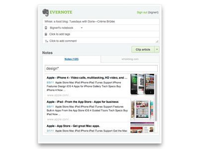 Vorschau Clip to Evernote for Firefox - Bild 4