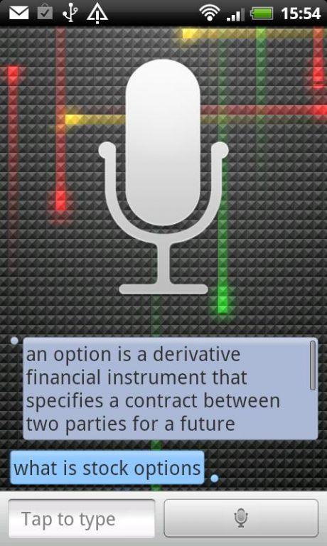 Vorschau Speaktoit Assistant - Android App - Bild 4