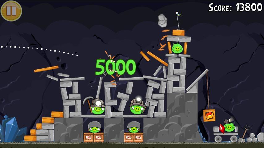 Vorschau Angry Birds Seasons - Android App - Bild 4