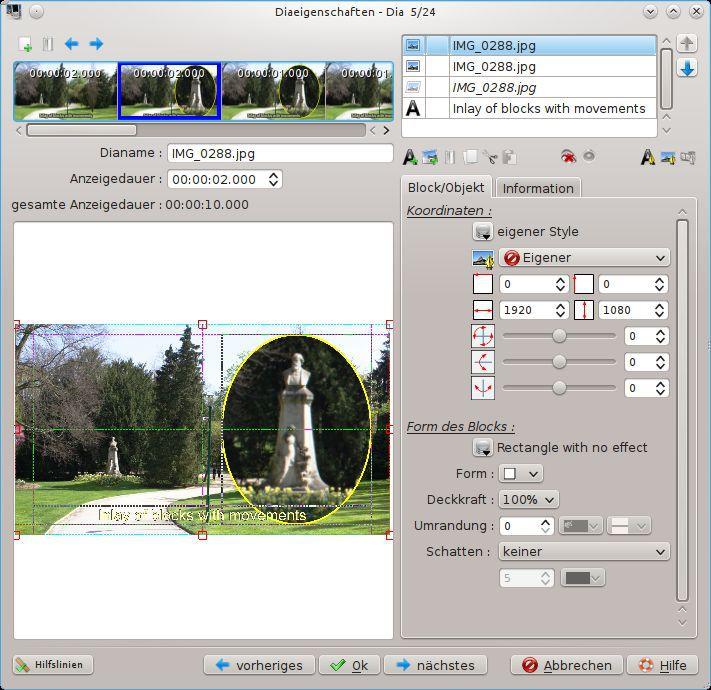 Vorschau ffDiaporama and Portable - Bild 4