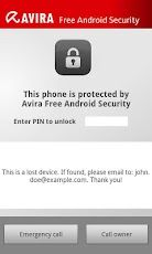 Vorschau Avira Free Android Security - Android Application - Bild 4