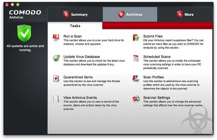 Vorschau Comodo Antivirus for Mac - Bild 4