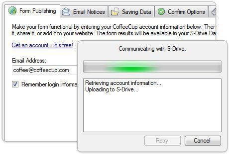 Vorschau CoffeeCup Web Form Builder Lite - Bild 4