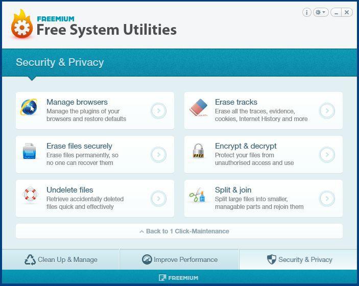 Vorschau Free System Utilities - Bild 4