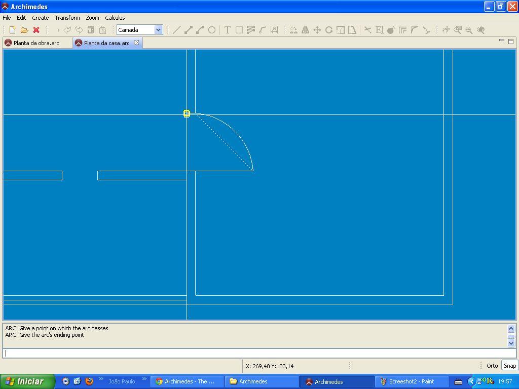 Vorschau Archimedes - An architecture open CAD for Linux - Bild 4