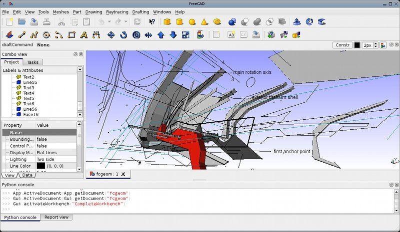 Vorschau FreeCAD for Linux - Bild 4