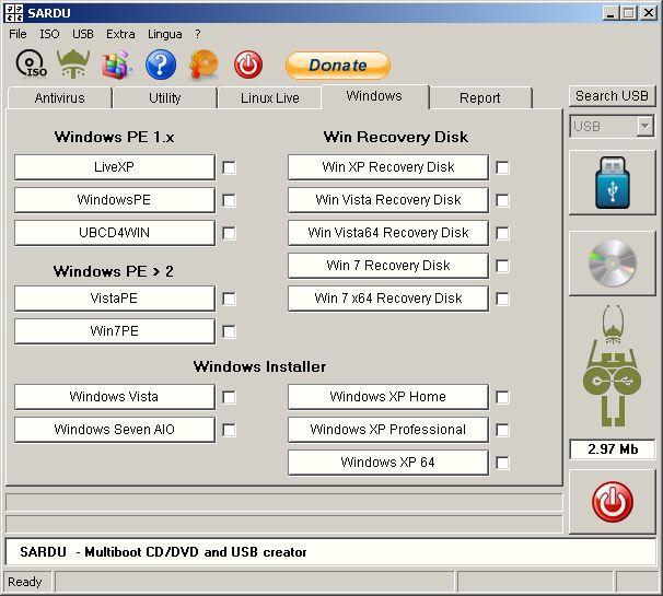 Vorschau SARDU - Multiboot creator USB and DVD - Bild 4