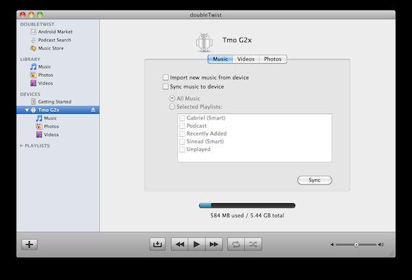 Vorschau doubleTwist for Mac - Bild 4