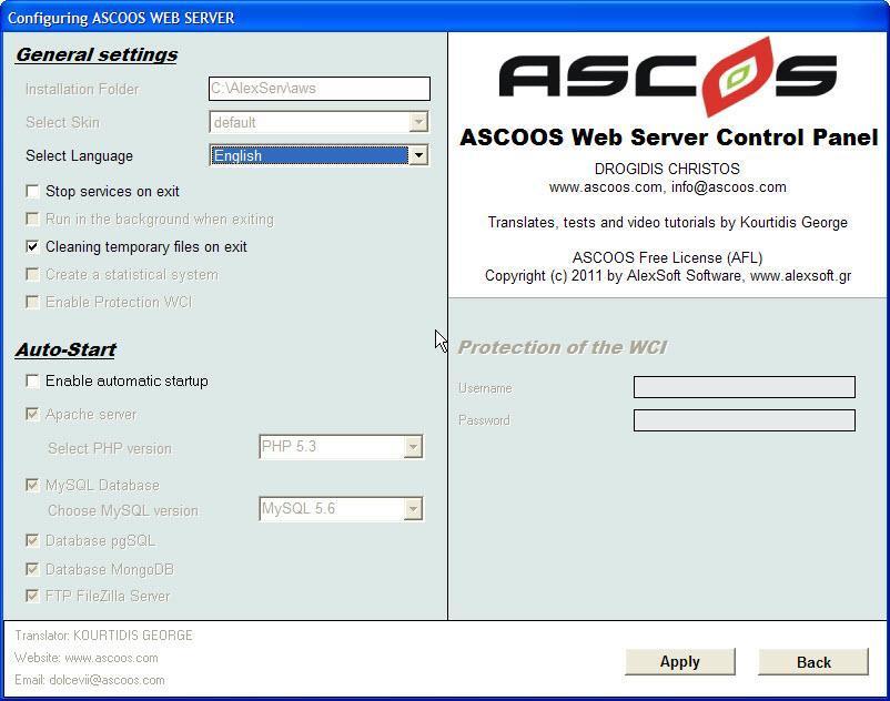 Vorschau ASCOOS Web Server - Bild 4