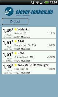 Vorschau clever-tanken.de for Android - Bild 4