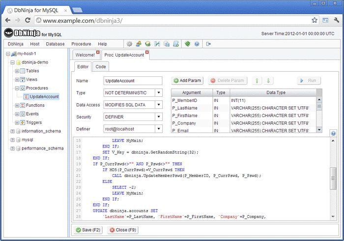 Vorschau DbNinja MySQL Manager - Bild 4