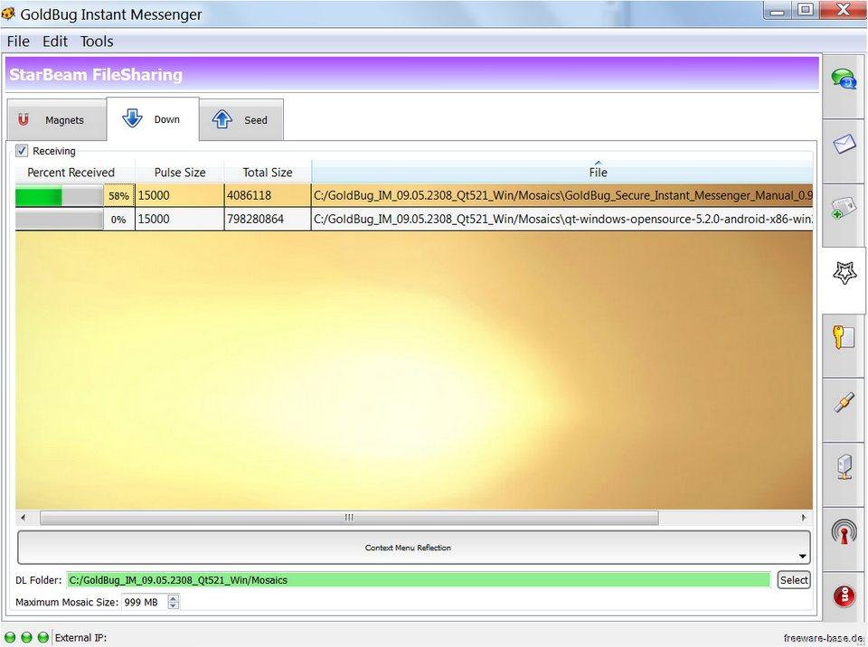 Vorschau GoldBug Instant Messenger - Bild 4