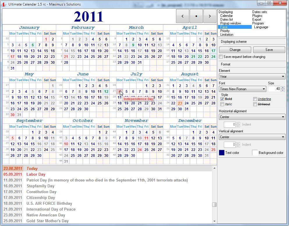 Vorschau Ultimate Calendar - Bild 4