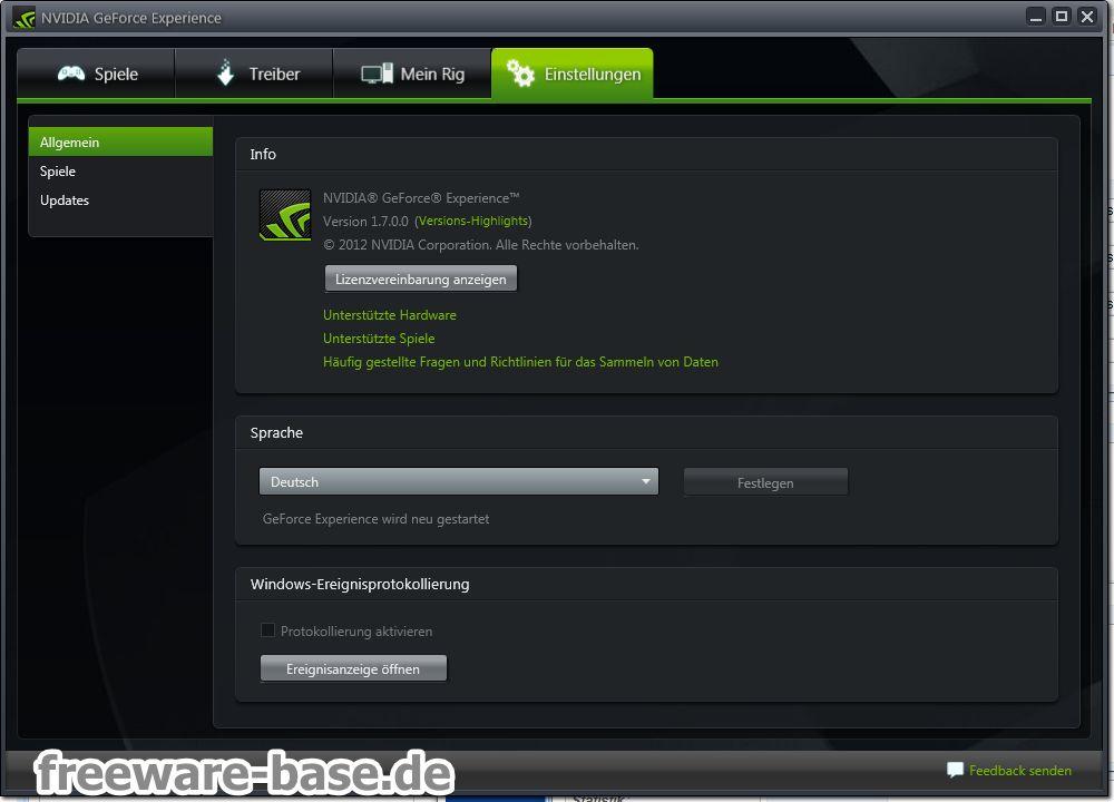 Vorschau NVIDIA GeForce Experience - Bild 4