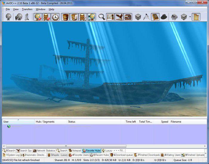 Vorschau AirDC++ - Bild 4