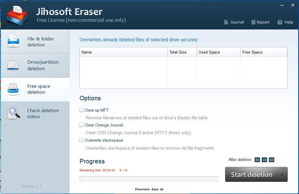 Vorschau Jihosoft Free Eraser - Bild 4