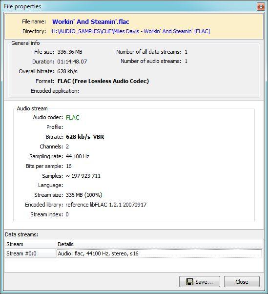 Vorschau Pazera FLAC to MP3 - Bild 4
