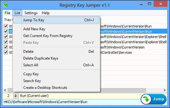 Vorschau Registry Key Jumper - Bild 4