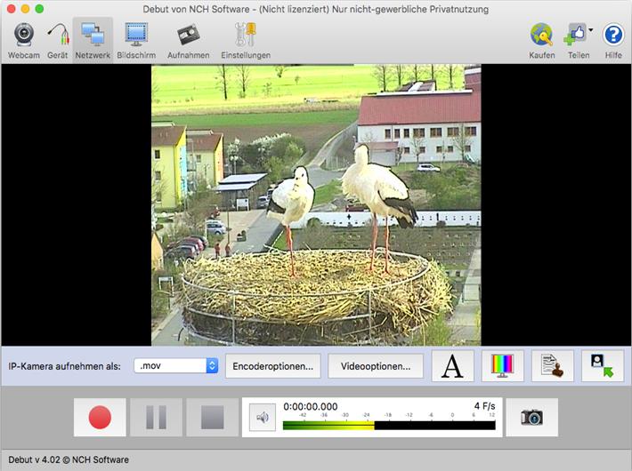 Vorschau Debut Video-Aufnahme-Programm Mac - Bild 4