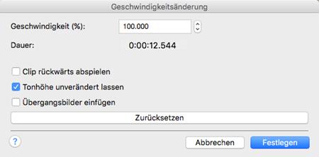 Vorschau VideoPad Video-Editor Kostenlos Mac OS X - Bild 4