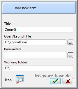 Vorschau Windows 7 Quick Application Launcher - Win7QL - Bild 4