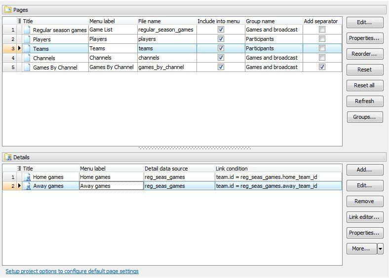 Vorschau DB2 PHP Generator Freeware Edition - Bild 4