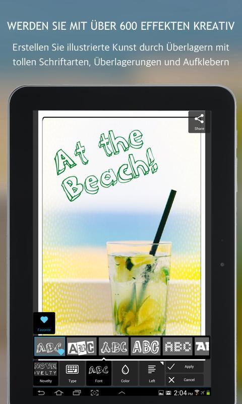 Vorschau Autodesk Pixlr Express for Android - Bild 4