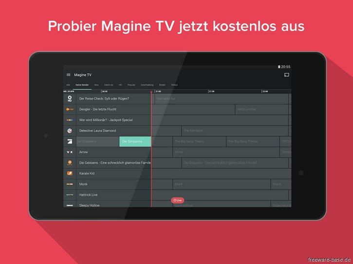 Vorschau Magine TV for Android - Bild 4