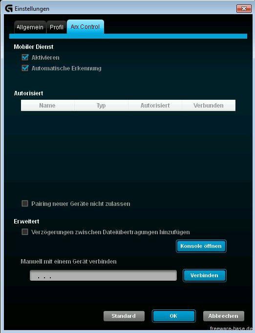 Vorschau Logitech Gaming Software - Bild 4