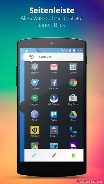Vorschau UR 3D Launcher fuer Android - Bild 4