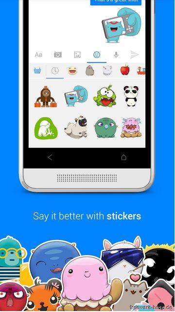 Vorschau Facebook Messenger für Android - Bild 4