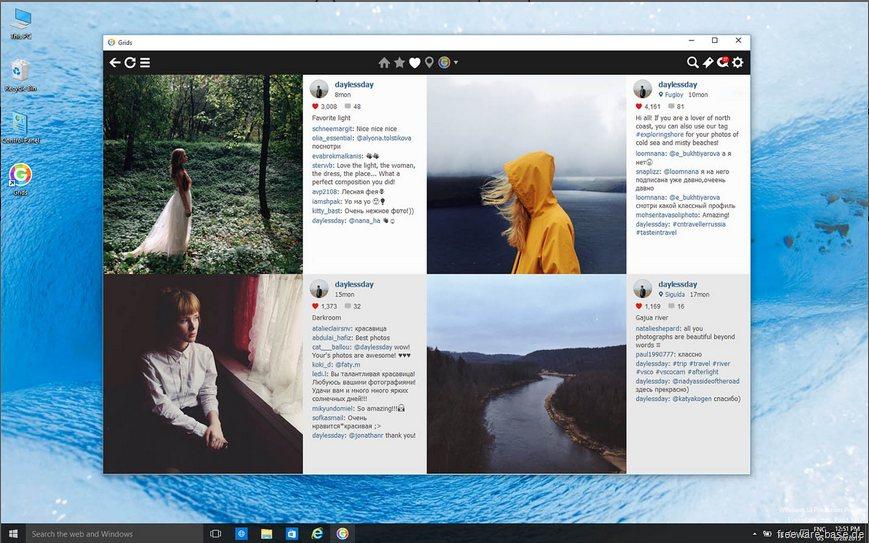 Vorschau Grids Free - Instagram fuer Windows - Bild 4