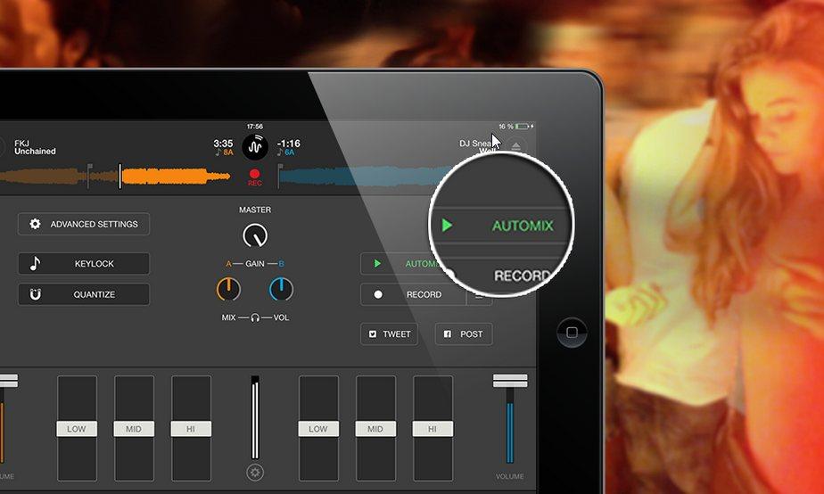 Vorschau Cross DJ Free fuer iPad - Bild 4