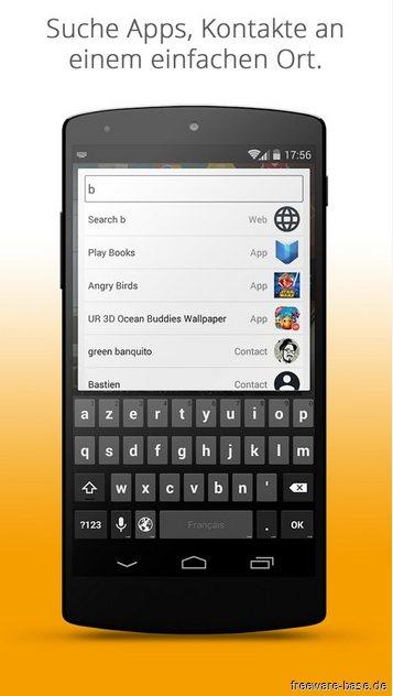 Vorschau UR Mood Launcher fuer Android - Bild 4