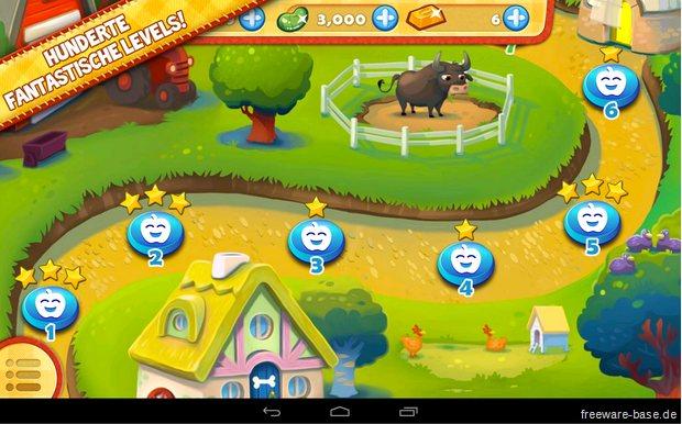 Vorschau Farm Heroes Saga für Android und iPhone - iPad - Bild 4