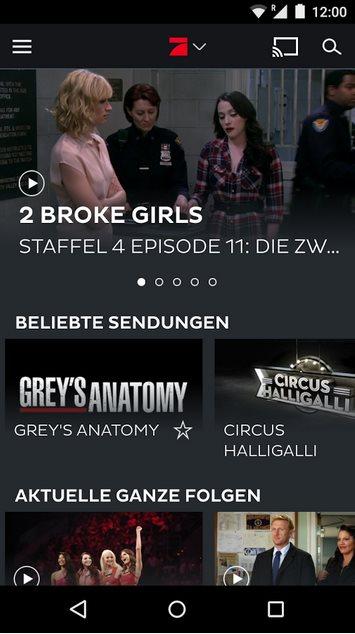 Vorschau 7TV - Mediatheken - TV Livestream für Android - Bild 4