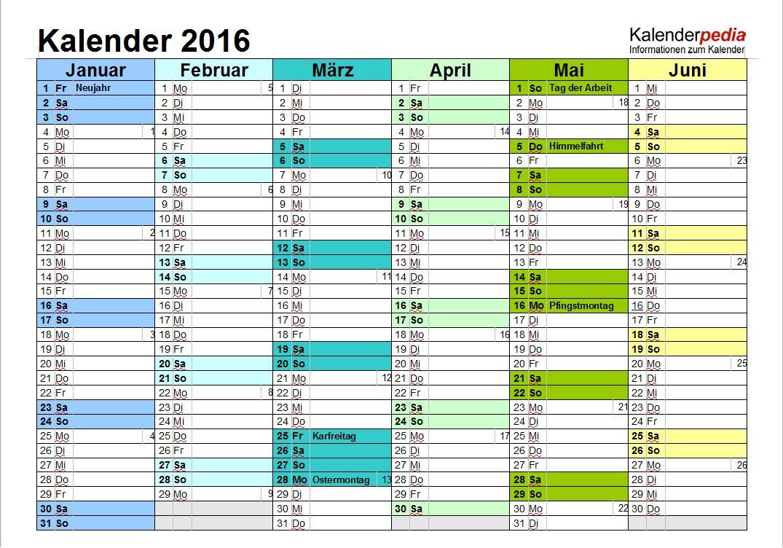 Vorschau Word Kalender Paket - Bild 4