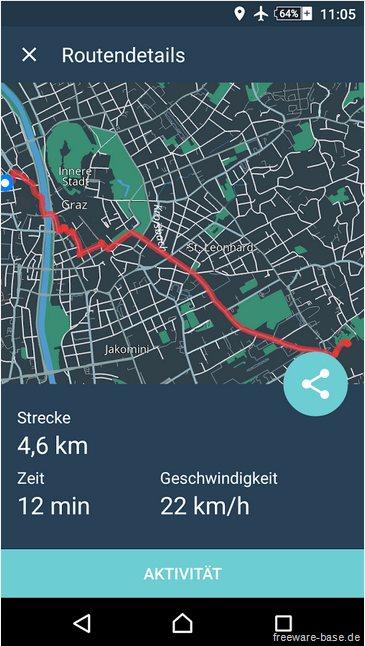 Vorschau Bike Citizens Fahrrad Navi GPS für Android - Bild 4