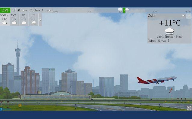 Vorschau YoWindow Wetter für Google Chrome - Bild 4
