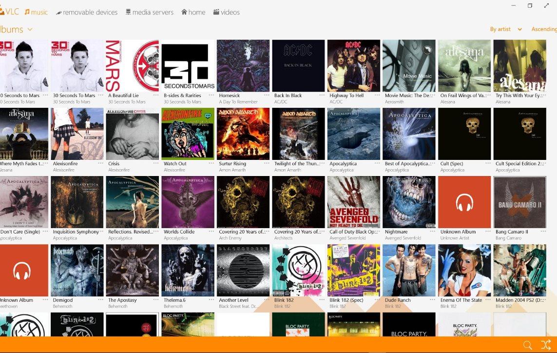 Vorschau VLC Media Player fuer Windows 8 und 10 App - Bild 4