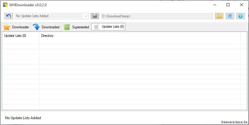 Vorschau WHDownloader der Hotfix Downloader - Bild 4