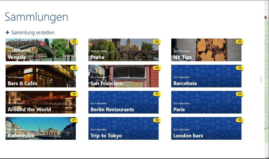 Vorschau Here Maps fuer Windows 8 und 10 - Bild 4