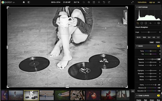 Vorschau Polarr Photo Editor für Chrome - Bild 4