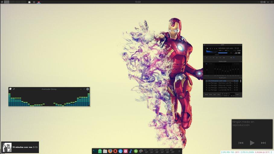 Vorschau KaOS Linux - Bild 4