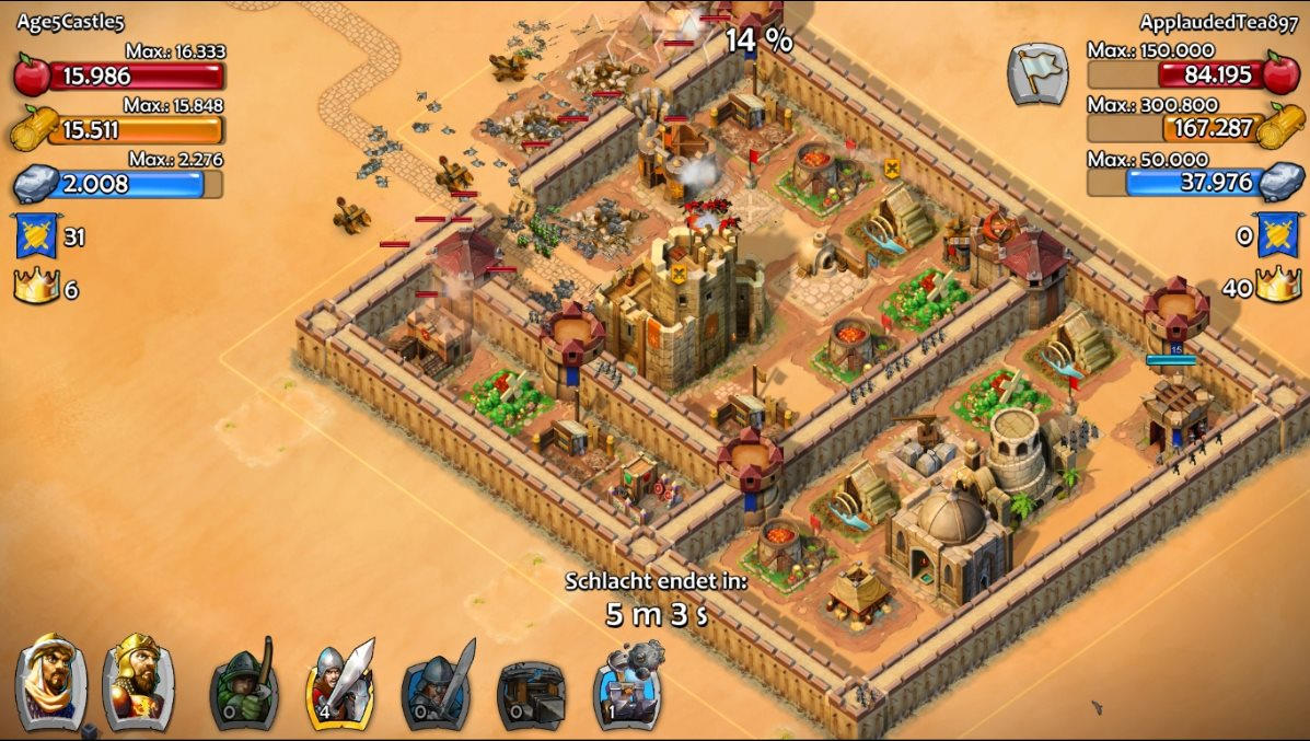 Vorschau Age of Empires - Castle Siege fuer Windows 10 App - Bild 4