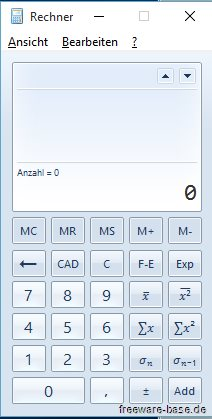Vorschau Old Calculator fuer Windows 10 - Bild 4